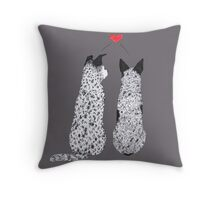 Puppy Love by Artwork by AK Throw Pillow