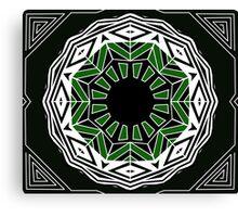 geometric eye Canvas Print