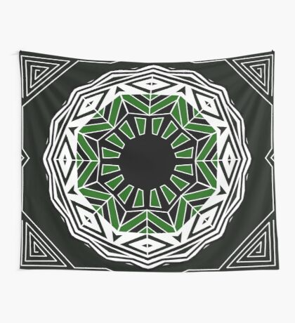 geometric eye Wall Tapestry