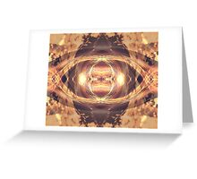 Dune Digital Mandala Greeting Card