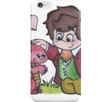 Bilbo and Smaug iPhone Case/Skin