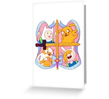 The Gang Greeting Card