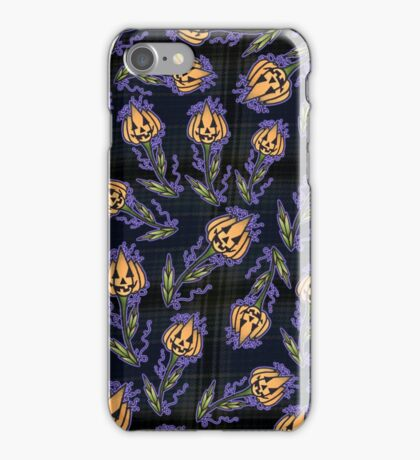 Jack-o-Lantern Flower iPhone Case/Skin