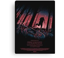 Stranger Things - Poster Canvas Print