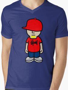 Blond (tagged) Avatar Mens V-Neck T-Shirt