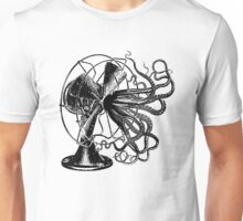 When the squid hit the fan Unisex T-Shirt