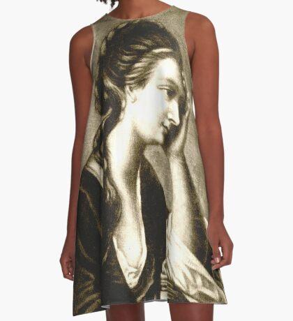 the worrier A-Line Dress
