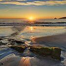 HDR view towards Penguin Island, Adventure Bay, Tasmania, Australia by PC1134