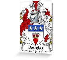 Douglas Coat of Arms / Douglas Family Crest Greeting Card