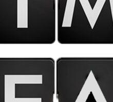 TIME TEAM Sticker