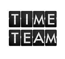 TIME TEAM Photographic Print
