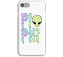 pi trippy alien phi iPhone Case/Skin