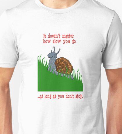 Keep Going Unisex T-Shirt