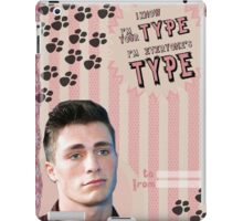 My Teenwolfed Valentine[I know I'm Your Type] iPad Case/Skin