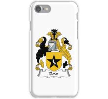 Dow Coat of Arms / Dow Family Crest iPhone Case/Skin