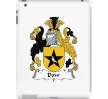 Dow Coat of Arms / Dow Family Crest iPad Case/Skin