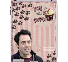 My Teenwolfed Valentine [You Can Call Me Cupcake] iPad Case/Skin