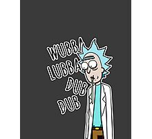 """Rick from """"Rick and Morty"""" Photographic Print"""