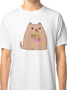 Pupsheen Eating Ramen Classic T-Shirt