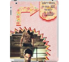 My Teenwolfed Valentine [You Don't Need to Heal me to Get Laid Scene] iPad Case/Skin