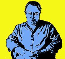 Christopher Hitchens by DJVYEATES