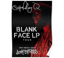Schoolboy Q Blank Face LP Tour 2016 Poster