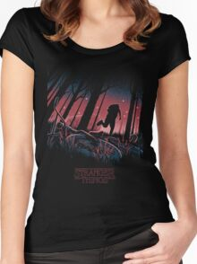 Stranger Things - Will Byers Women's Fitted Scoop T-Shirt