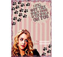My Teenwolfed Valentine [I Still Got The Worst Crush On You] Photographic Print