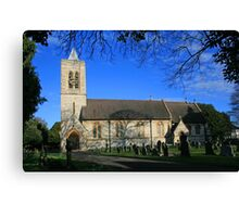 St John's Moordown Canvas Print