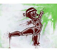 Robot Dancer Photographic Print