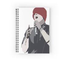 Detailed Tyler Joseph Wearing A Beanie Spiral Notebook