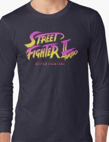 Street Fighter II Turbo Long Sleeve T-Shirt