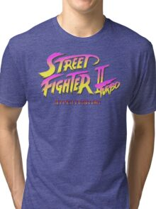 Street Fighter II Turbo Tri-blend T-Shirt
