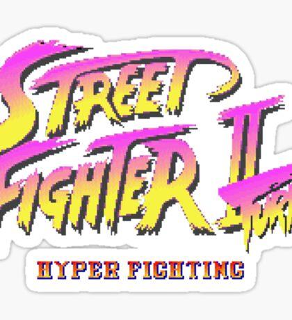 Street Fighter II Turbo Sticker