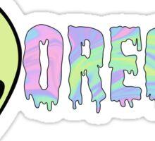 oregon alien Sticker