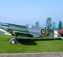 Supermarine Spitfire LF.XVIe TB382 by Colin Smedley
