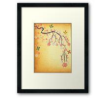 Blossoms & Butterflies Framed Print