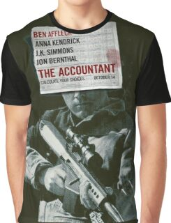 The Accountant Movie Graphic T-Shirt