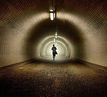 An old tunnel by JBlaminsky