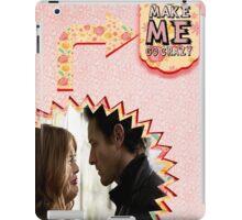 My Teenwolfed Valentine [You Make Me Go Crazy] iPad Case/Skin