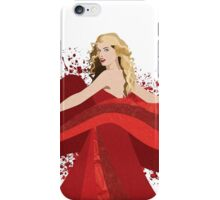 Burning Red iPhone Case/Skin