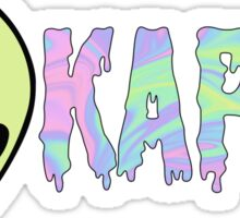 kappa alien Sticker