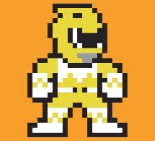 Yellow Ranger by themaddesigner