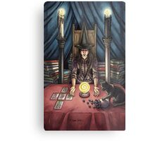 Everyday Witch Tarot - The High Priestess Metal Print