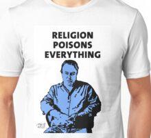 Christopher Hitchens white background Unisex T-Shirt