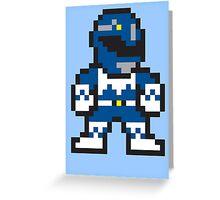 Blue Ranger Greeting Card