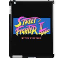 Street Fighter II Turbo iPad Case/Skin
