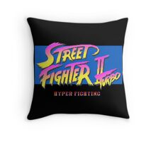 Street Fighter II Turbo Throw Pillow