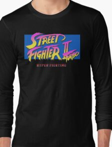 Street Fighter II Turbo Long Sleeve T-Shirt