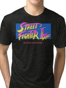 Street Fighter II Turbo Tri-blend T-Shirt